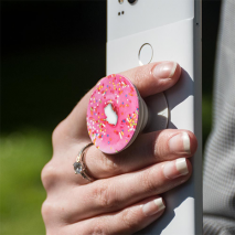 PopSockets Expanding Phone Grip & Stand | Pink Donut