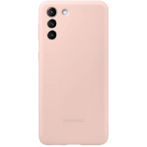 Official Samsung Silicone Case - Galaxy S21 & S21 5G | Pink