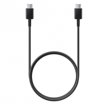 Official Samsung USB-C to USB-C Data and Charge Cable - 1m | Black