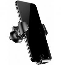 Baseus Universal In-Car Phone Holder - Vent Mounted | Black