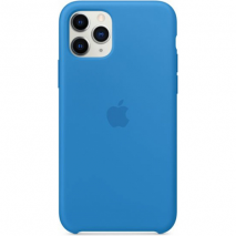 Official Apple Silicone Case - iPhone 11 Pro | Surf Blue