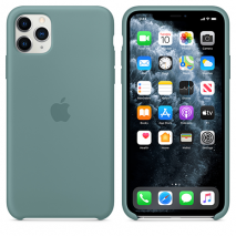 Official Apple Silicone Case - iPhone 11 Pro Max | Cactus