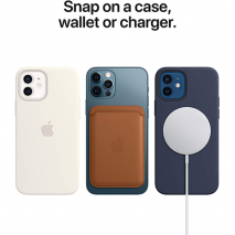 Official Apple Silicone Case - MagSafe Compatible - iPhone 12/12 Pro | Deep Navy