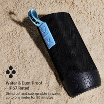 Jam Zero Chill Bluetooth Speaker - Black - Waterproof & Dustproof IP67
