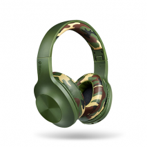 TTEC Soundmax 2 Wireless On-Ear Headphones | Camouflage