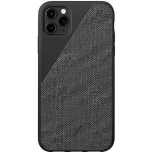 Native Union Clic Canvas Case iPhone 11 Pro Max | Black