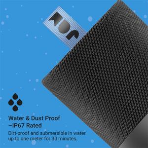 Jam Double Chill Bluetooth Speaker   Black