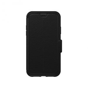 Otterbox Strada Folio Impact Case - iPhone XR   Black Shadow