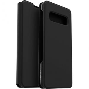 Otterbox Strada Via Folio Impact Case - Galaxy S10   Black