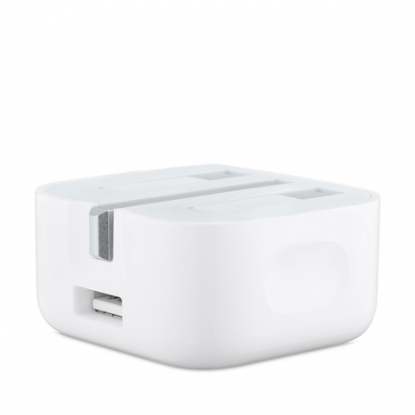 Apple Folding Pins Power Adapter (Pins Folded)