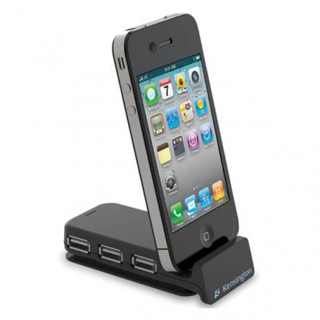 Kensington USB Hub and iPhone 30-Pin Charger