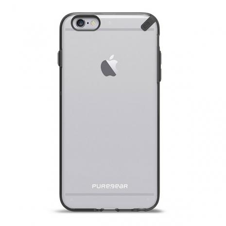 PureGear Slim Shell 6 Plus - Clear & Black