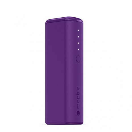 Mophie mini pwoer boost portable charger purple