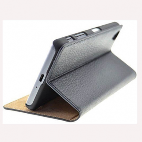 sony xperia x leather case flip book stand