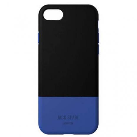 iphone case black blue jack spades