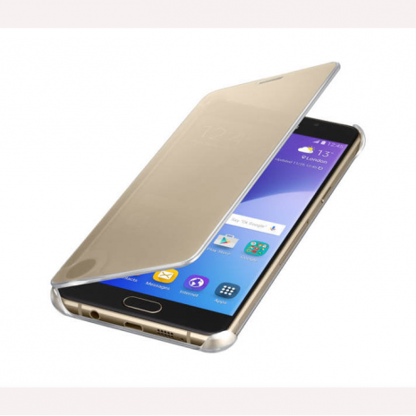 Samsung Galaxy clear view case open
