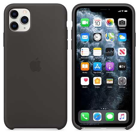 Official Apple Silicone Case | iPhone 11 Pro | Black