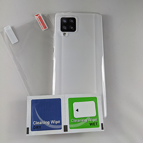 CaseIt Case and Screen Protector Bundle - Samsung A42   Clear