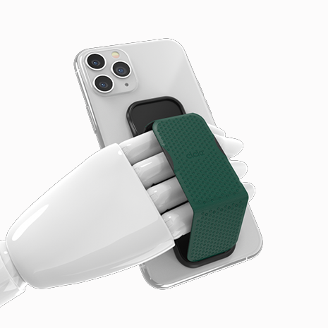 CLCKR Universal Grip and Stand - Perforated Green