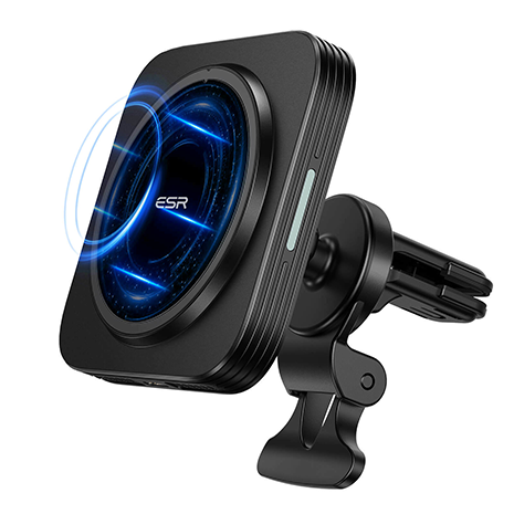 ESR HaloLock Magnetic Air Vent Wireless Car Charger for iPhone 12 Models