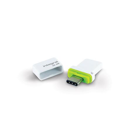 Integral 32GB USB & USB-C 3.1 Memory Stick Flash Drive