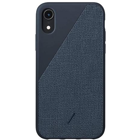 Native Union Clic Canvas Case - iPhone XR - Navy