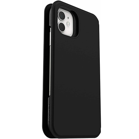 Otterbox Strada Via - iPhone 11 - Black - Closed