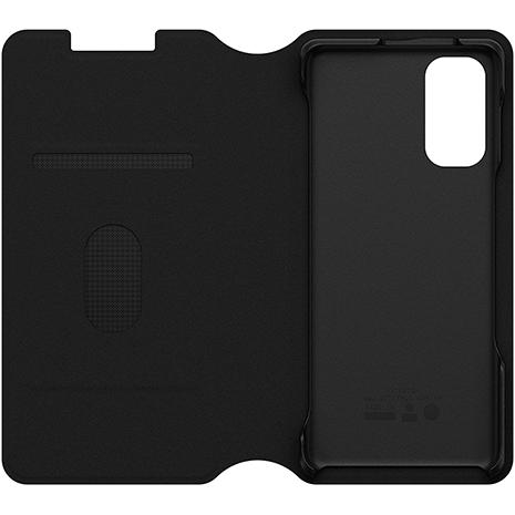 Otterbox Strada Via Folio Impact Case - Samsung Galaxy S20 | Black