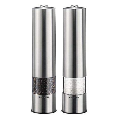 Salter Electric Salt and Pepper Mills