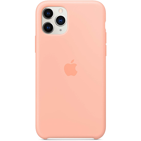 Official Apple Silicone Case - iPhone 11 Pro | Grapefruit