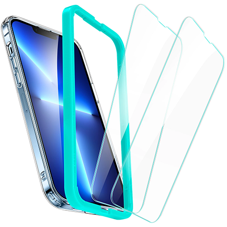 ESR Tempered Glas Screen Protector with Installation Frame - iPhone 13/13 Pro | 2 Pack
