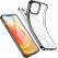 ESR Halo Slim Soft Case Cover | iPhone 12 & 12 Pro | Clear/Black