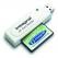 Integral USB 2.0 Compact Flash Card Reader | White