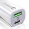ESR USB-C & USB Car Charger - White
