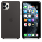 Apple Silicone Case   iPhone 11 Pro Max   Black